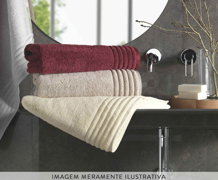 Toalha de Banho Imperiale Branca - 540 g/m² | WestwingNow