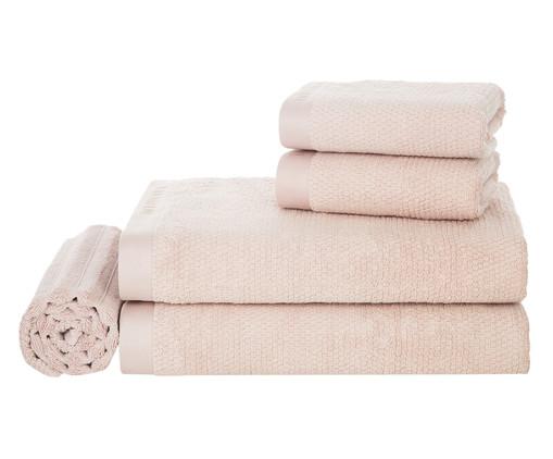 Jogo de Toalhas Maggiore Soft Rosé - 450 g/m², Rosa, Colorido | WestwingNow