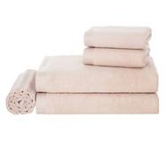 Jogo de Toalhas Maggiore Soft Rosé - 450 g/m² | WestwingNow
