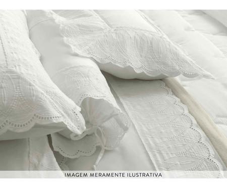 Fronha de Cetim Jayden 600 Fios - Branca | WestwingNow