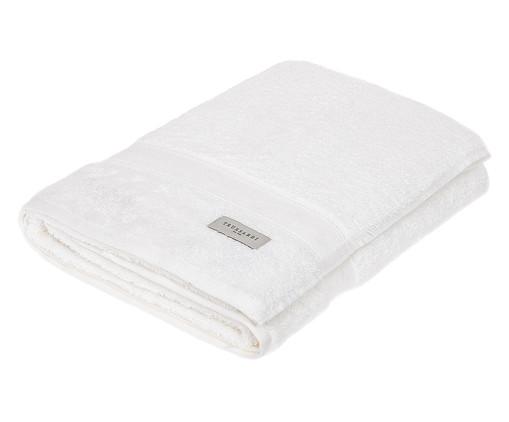 Toalha de Banho em Algodão Egípcio Egitto 530 g/m² - Branca, Branco | WestwingNow