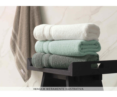 Toalha de Banho Nicolazzi Branca - 550 g/m² | WestwingNow