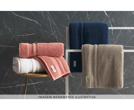 Toalha de Banho em Algodão Lorenzi 560 g/m² - Marrom | WestwingNow