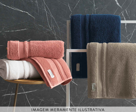 Toalha de Banho Lorenzi Gelo - 560 g/m² | WestwingNow