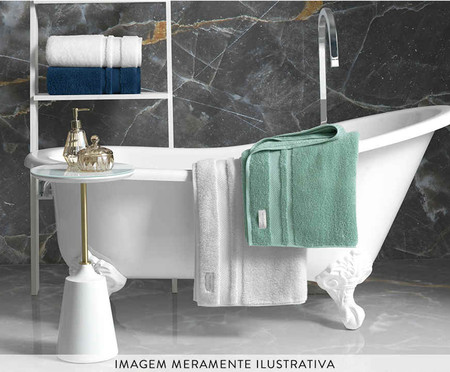 Toalha de Banho Lorenzi Branca - 560 g/m² | WestwingNow