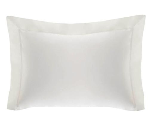 Fronha para Travesseiro King de Algodão 1000 Fios Ilah - Branca, Branco | WestwingNow