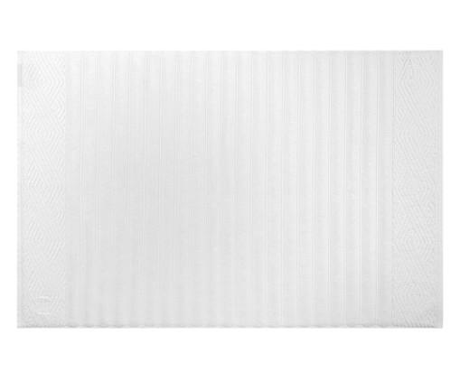 Toalha de Piso Ondulato 720g - Branca, Branco, Colorido | WestwingNow