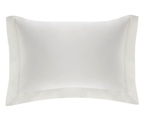 Fronha de Cetim Maya 1000 Fios - Branca, Branco | WestwingNow