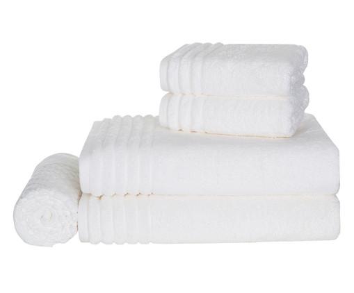 Jogo de Toalhas Imperiale Branco - 540 g/m², Branco | WestwingNow