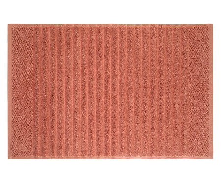 Toalha de Piso Ondulato Terracota - 720 g/m² | WestwingNow