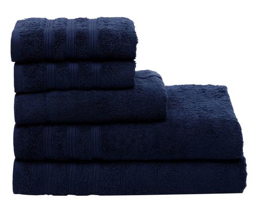 Jogo de Toalhas Bernardi Azul Marinho - 500 g/m², Azul Marinho | WestwingNow