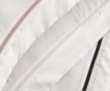 Jogo de Lençol Parisi em Cetim 300 Fios - Preto e Branco | WestwingNow