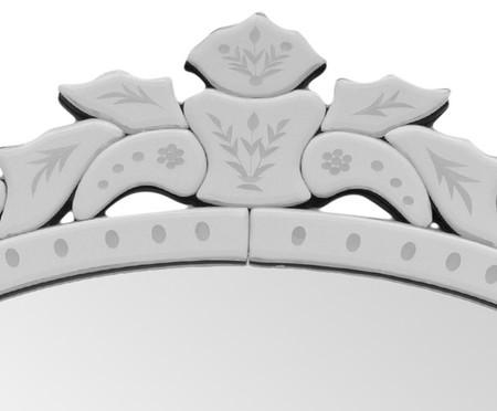 Espelho de Parede Veneziano Cruz - Prateado | WestwingNow