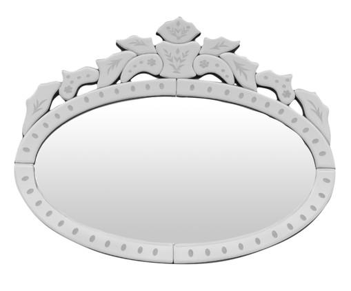 Espelho de Parede Veneziano Cruz - Prateado, Espelhado | WestwingNow