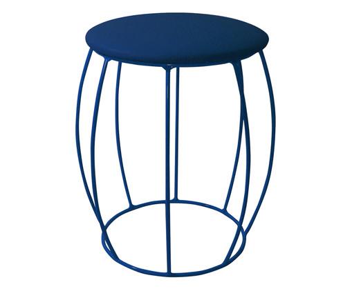 Banquinho Barril - Azul, Azul | WestwingNow