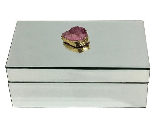 Caixa Decorativa Adele - Espelhada, Espelhado | WestwingNow