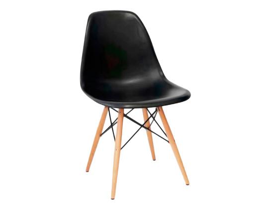 Cadeira Eames Wood - Preta, Branco, Marrom, Colorido | WestwingNow