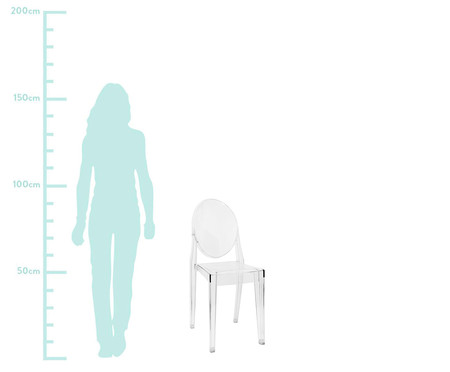 Cadeira Sofia - Transparente | WestwingNow