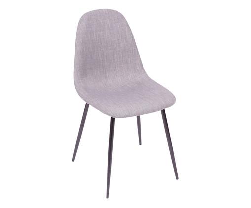 Cadeira em Linho Layla - Preta e Cinza, Branco, Colorido   WestwingNow