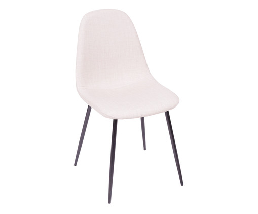 Cadeira Layla - Bege, Branco, Colorido | WestwingNow