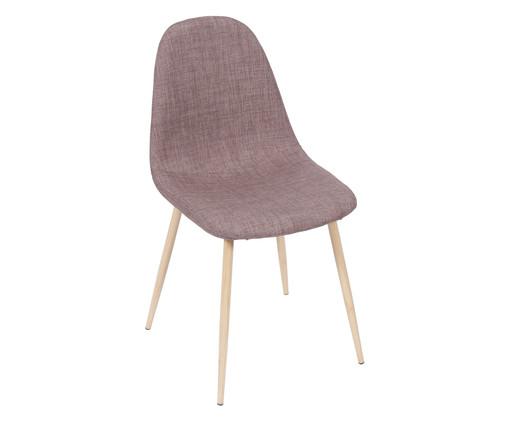 Cadeira em Linho Layla - Marrom, Branco, Colorido   WestwingNow