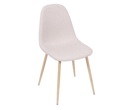 Cadeira em Linho Layla - Natural, Branco, Colorido   WestwingNow