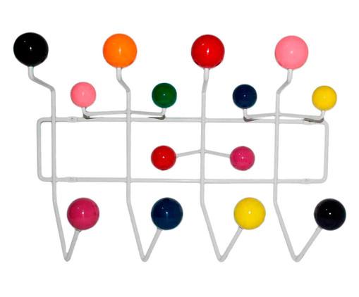 Cabideiro Jarin - Colorido, Bege, Verde, Rosa, Colorido | WestwingNow