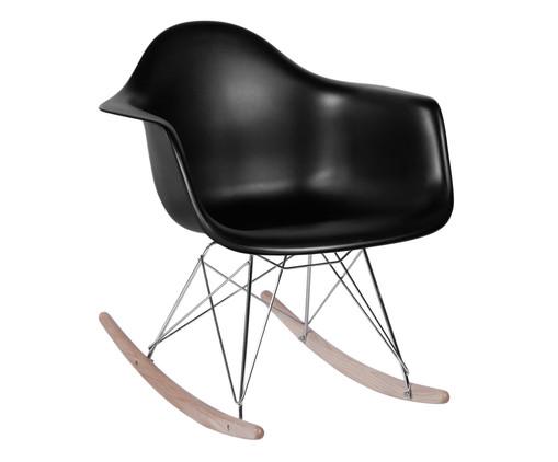 Cadeira de Balanço Finella Wood - Preta, Branco, Colorido | WestwingNow