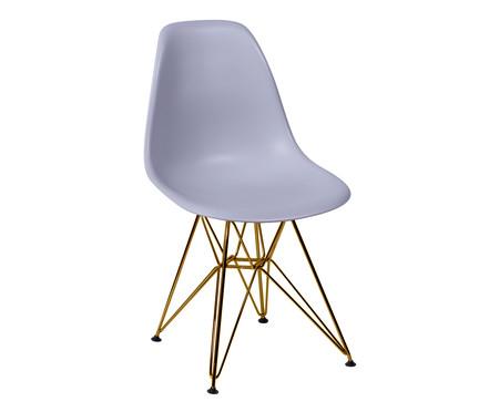 Cadeira Eames Eiffel - Cinza | WestwingNow