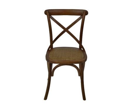 Cadeira Cross - Caramelo | WestwingNow