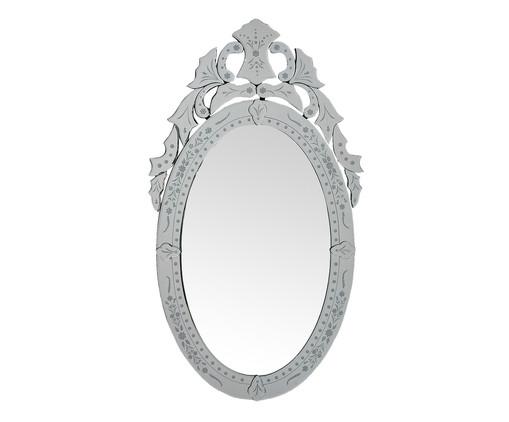 Espelho de Parede Veneziano Amin - Prateado, Espelhado | WestwingNow