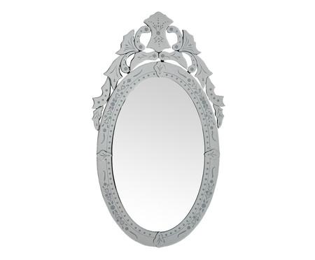 Espelho de Parede Veneziano Amin - Prateado | WestwingNow