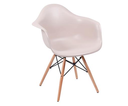 Cadeira Finella Wood - Fendi, Bege, Colorido | WestwingNow