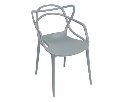 Cadeira Allegra - Cinza, Cinza   WestwingNow