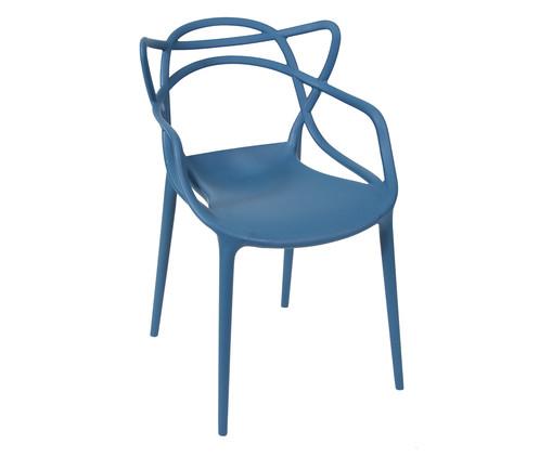 Cadeira Allegra - Azul Marinho, Azul | WestwingNow
