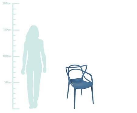 Cadeira Allegra - Azul Marinho | WestwingNow