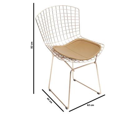 Cadeira Bertoia - Acobreada | WestwingNow