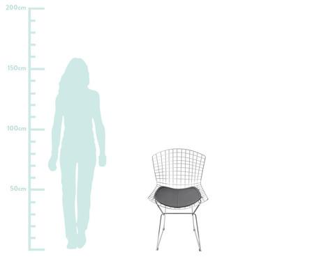 Cadeira Bertoia - Preta | WestwingNow