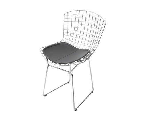 Cadeira Bertoia - Preta, Preto | WestwingNow