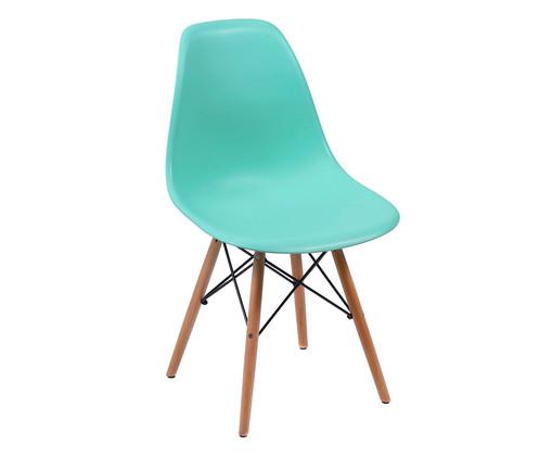 Cadeira Eames Wood - Verde Tifanny, Verde, Colorido | WestwingNow