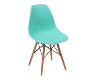 Cadeira Eames Wood - Verde Tifanny | WestwingNow
