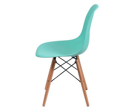 Cadeira Eames Wood - Verde Tifanny | WestwingNow