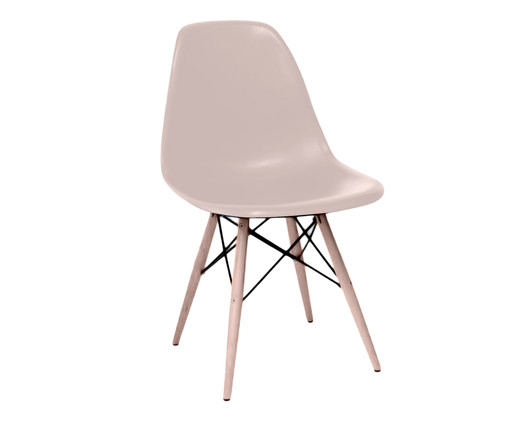Cadeira Eames Wood - Bege, Branco, Colorido | WestwingNow