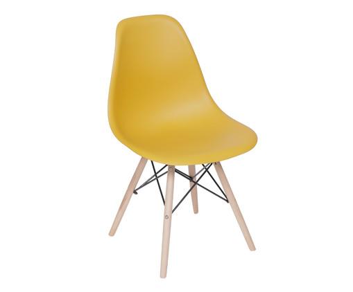Cadeira Eames Wood - Amarela Maracujá, Amarelo | WestwingNow