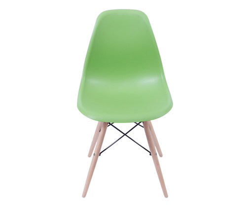 Cadeira Eames Wood - Verde Oliva, Branco, Marrom, Colorido | WestwingNow