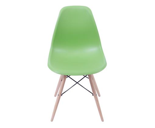 Cadeira Eames Wood - Verde Oliva, Branco, Marrom, Colorido   WestwingNow