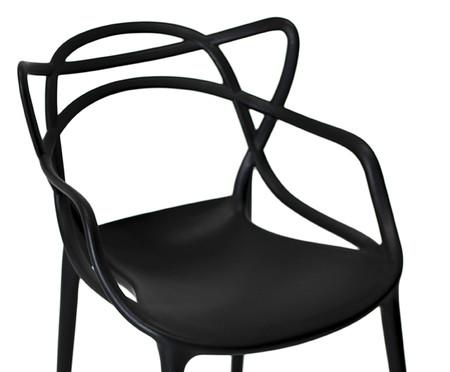 Cadeira Allegra - Preta Fosca | WestwingNow