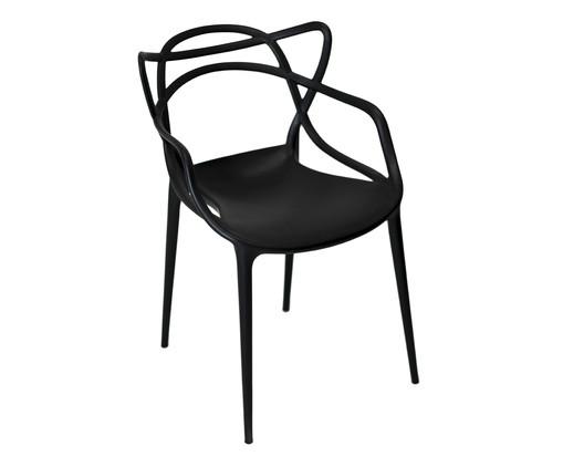 Cadeira Allegra - Preta Fosca, Branco, Colorido | WestwingNow