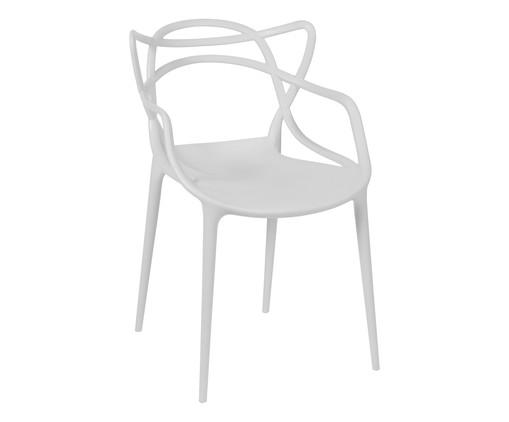 Cadeira Allegra - Branca, Branco, Colorido | WestwingNow