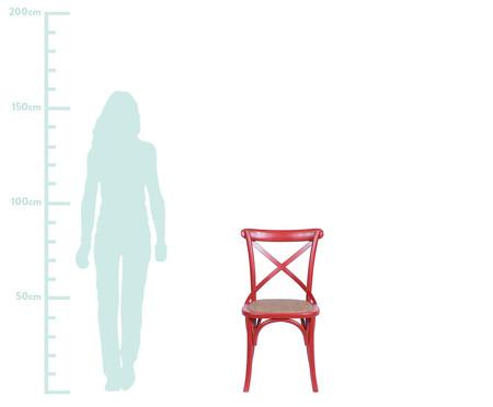 Cadeira Cross - Vermelha | WestwingNow